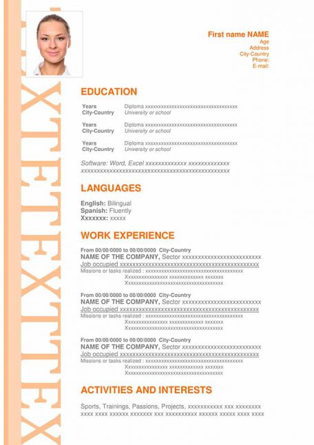 13-Resume-Persuasive-Orange-456x646 Teacher Resume Cv Format on curriculum vitae or, template word free download, curriculum vitae templates, create intelligent, for student, how create, curriculum vitae en espanol, electrical engineer, latex templates, is there difference between, format latest sample, curriculum sample vitae, curriculum vitae english, template pdf,