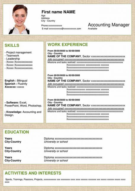 resume-template-word-structural-brown