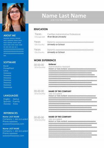 54-administrative-resume-350x495 Que Es Un Curriculum Vitae Y Ejemplo on