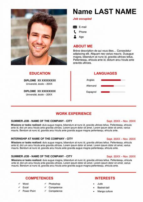 creative resume template to download for free