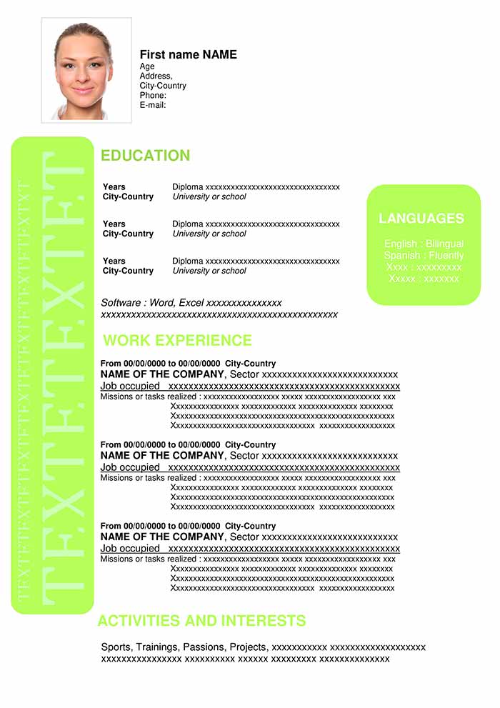 job-resume-template-download