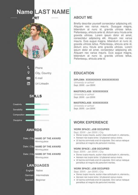 artist-resume-free-download