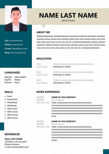 resume-for-fresher
