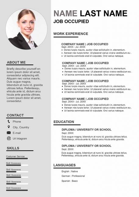 finance resume example