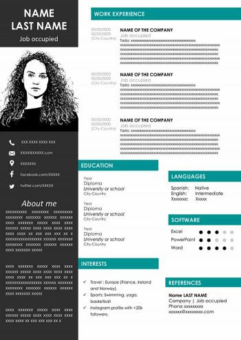 modern-cv-outline-template