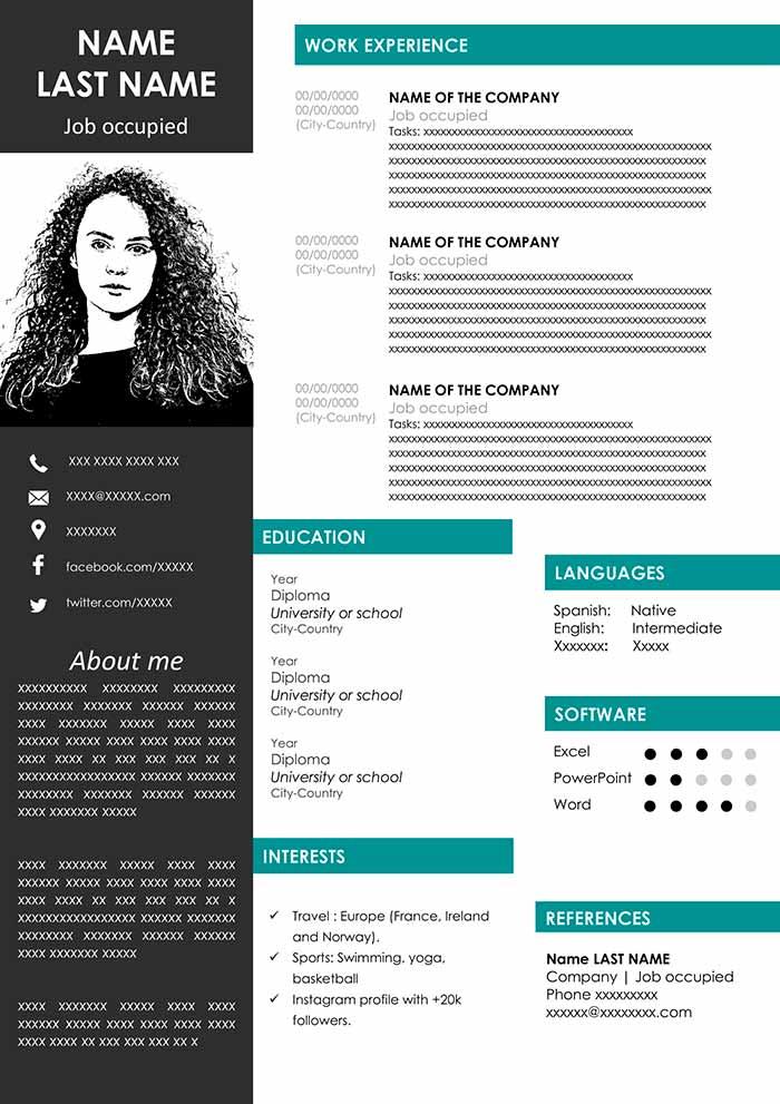 modern-cv-outline-template