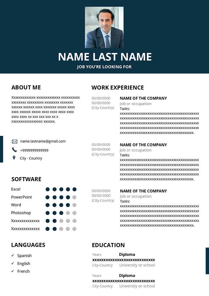 hr resume example