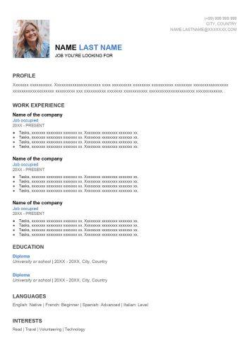resume-layout-google-docs-free