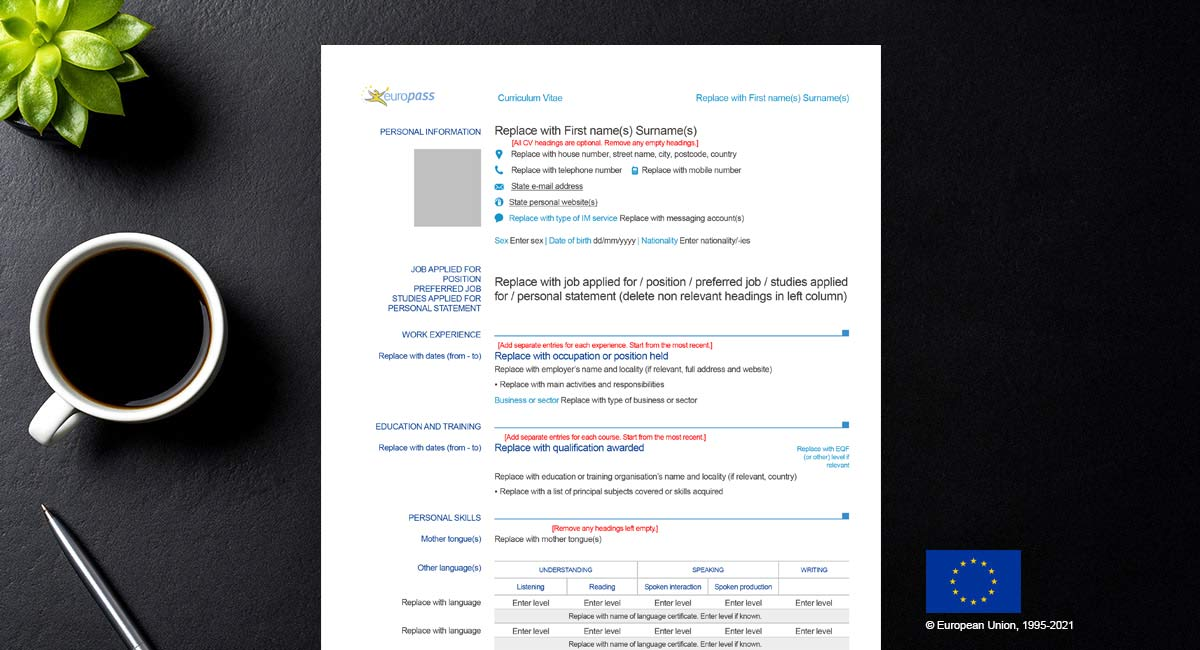 how-to-create-europass-cv-in-pdf